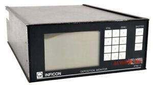 Inficon Leybold Xtm 2 Thin Film Deposition Monitor Controller Box System