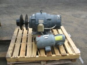 For Sale 2 Reuland Magnetic Drives 1 With Electric Motor And Variable Speed