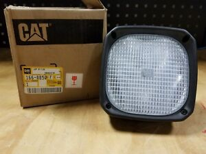 Genuine Caterpillar Cat Articulated Truck Flood Lamp Assembly 166 8850 New