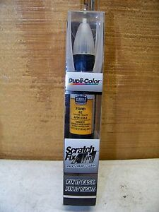 Dupli Color Scratch Fix All In 1 Ford Chrome Yellow Bz Afm 0363