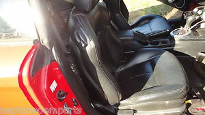 03 04 Hyundai Tiburon Front Passenger Seat Black Leather Factory Oem