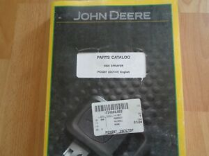 John Deere 4920 Self Propelled Sprayer Factory Parts Catalog Pc9297 Oem