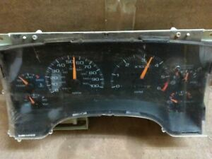 Speedometer Cluster Fits 1997 Chevy Blazer S10 Gmc Jimmy S15 With Tachometer