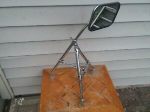 Vintage Original Chrome Adjustable Truck Towing Mirror With Mounting Brackets