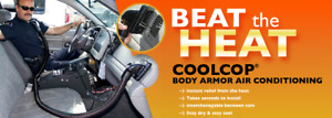 Cool Cop Body Armor Air Conditioning Heat System Universal