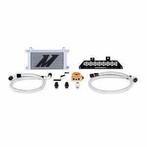 Mishimoto Ford Focus St Oil Cooler Kit 2013 Silver Thermostatic