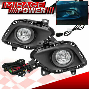 For 2013 2014 2015 Mazda 6 Driving Clear Bumper Fog Lights Lamps Replacement Jdm