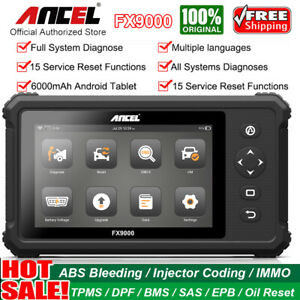 Ancel X5 Plus Wifi Obd2 Scanner Diagnostic Full System Tool 10 1 Win10 Tablet