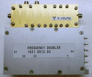 Frequency Doubler For R S Emi Test Receiver