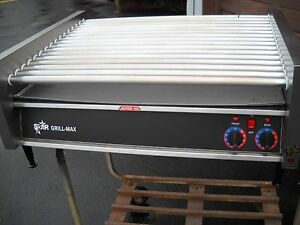 Hot Dog Roller Grill star Mfg Model 75a 208 240volt