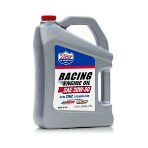 Lucas Oil 48410621 Lucas Racing Engine Oil 20w 50 5 Quarts