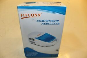 Fitconn Portable Nebulizer Compressor Machine System Kit Inhaler Humidif