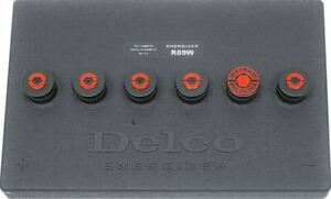 Delco Energizer R89 Side Post Battery Topper 1971 1976 Pontiac Chevy Buick Olds
