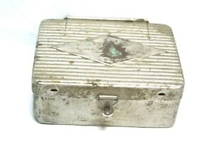 Antique Busch And Co Dental Burr Drill Bits In Small Travel Case