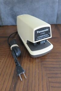 Panasonic Commercial Electric Stapler As 300nn Made In Japan