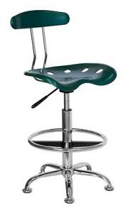 Drafting Stool With Molded Tractor Seat And Back id 3064599