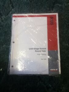 7 2930 A New Parts Catalog For A Caseih 8435 Silage Special Round Baler