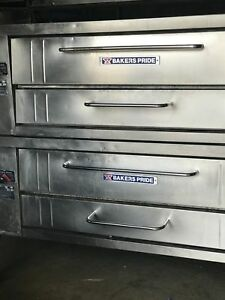Bakers Pride Pizza Oven Y600 Double Stacked
