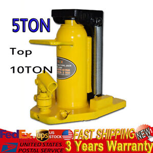 Hydraulic Machine Toe Jack Lift 5ton Top 10ton Installation Mechanical Us Sale