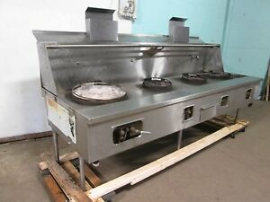 a r equip Hd Commercial 109 w Natural Gas 3 Jet Burners Regular Wok Stove