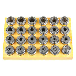 All Industrial 41902 24 Pc 3 26mm X 1mm Er40 Collet Set