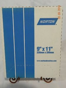Norton Saint gobain 01308 Emery Cloth 9 X 11 Fine Grit 50 Sheets