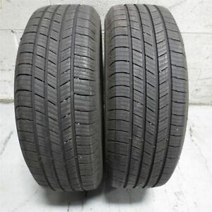 215 60r17 Michelin Defender 96t Tire 8 32nd Set Of 2 No Repairs