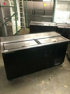 65 Underbar Horizontal Beer Bottle Cooler Refrigerator True Td 65 24 9470 Nsf
