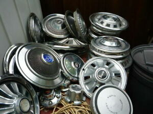 Hub Caps Wheel Covers Collection Ford Chevy Plymouth Rambler And More