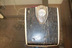 Antique Vintage Detecto Floor Scale Retro Scale Brooklyn New York