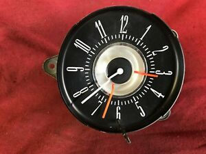 1968 1969 1970 1971 Ford Thunderbird Cluster Clock C8sf 15000 Nos New Working
