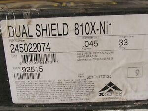 33 lbs esab Dual Shield Ii 810x ni1 Metal Cored 0 045 Welding Wire 12 Spool