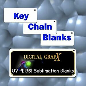 2 x3 Aluminum Dye Sublimation Key Chain Blanks lots Of 50