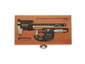 Mitutoyo 64pka076b Digimatic Tool Kit 0 6 Calipers 0 1 Micrometer 00001