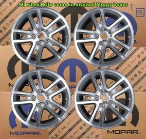 New Oem Mopar Jeep Grand Cherokee 18x7 5 Set Of 4 Wheel Kit 1dz02pakaa