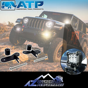 American Trail Products A pillar Light Brackets For Jeep Wrangler Jl 18 19