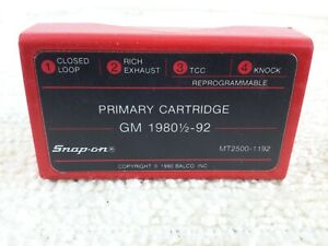 Snap On Mt2500 1192 Primary Cartridge Gm 1980 92 1980 1 2 1992