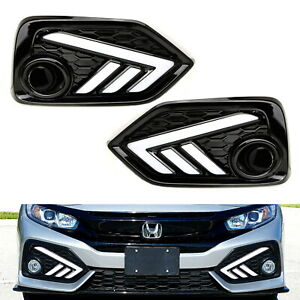 Switchback Led Daytime Running Light Kit W Turn Signal For 2017 Up Honda Civic