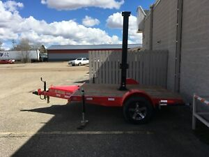 6x9 Trailer With 4ft Hydraulic Lift That Rotates 360 Degrees