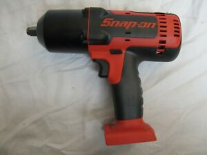 Snap On 18v 1 2 Drive Cordless Monsterlithium Impact Wrench Ct8850 Tool Only
