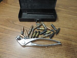 Wedgelock Cleco Pliers And Bits