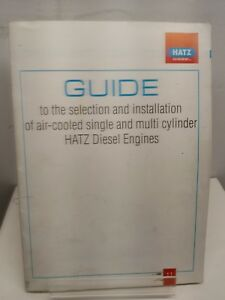 Hatz Diesel Engine Guide Selection And Installation Air cooled Multi Cylinder