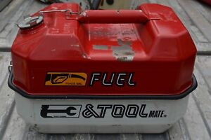Blitz Usmc Fuel Tool Gas Can Tool Box 5 7 Liters 1 1 2 Gallons 1985