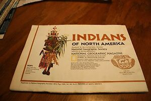 Map Indians Of North America