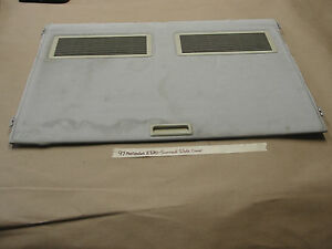 Oem 97 Mercedes E320 W210 Sunroof Slide Cover With Vents Grey