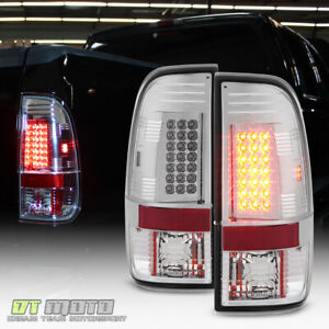 1999 2007 Ford F250 97 03 F150 Lumileds Led Tail Lights Brake Lamps Left right