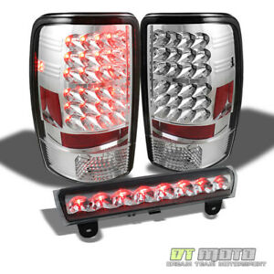 2000 2006 Suburban Tahoe Yukon Denali Led Tail Lights Led 3rd Brake Lamp 00 06