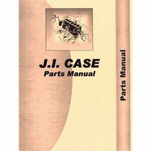 Parts Manual 450 Crawler Case 450 450