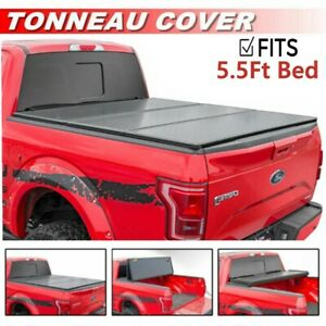 For 2015 2019 Ford F 150 5 5 Ft Bed Hard Tonneau Cover Aluminum