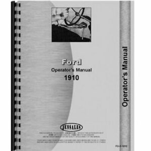 Service Manual 1910 2110 Ford 2110 1910